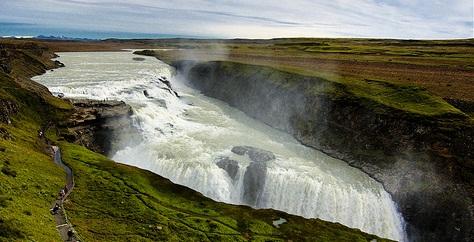 Gullfoss in Island flickr (c) Francesco_G nach CC-Lizenz