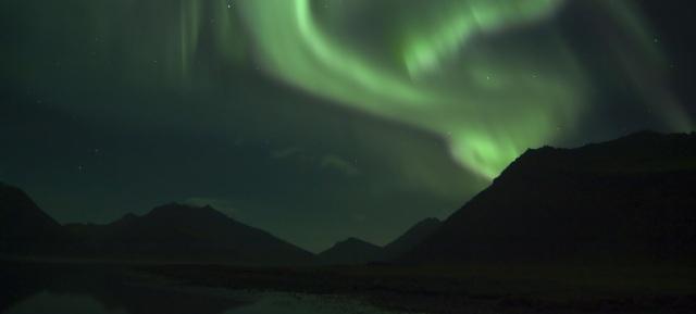 Polarlicht über Island - fotolia (c) ronnihauks