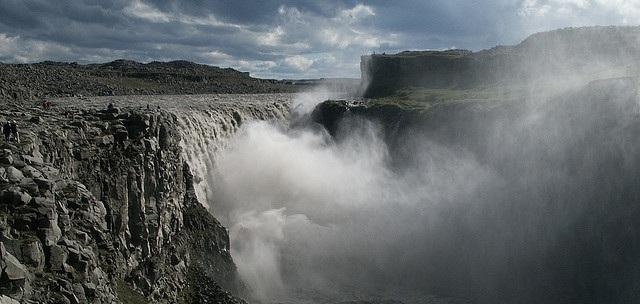 Dettifoss in Island flickr (c) Meadi CC-Lizenz