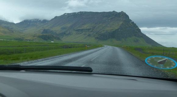 Mietwagen auf Island