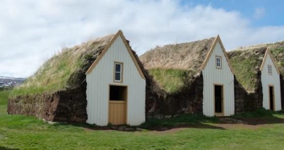 Glaumbær Torfhof bei Sauðárkrókur und Varmahlíð