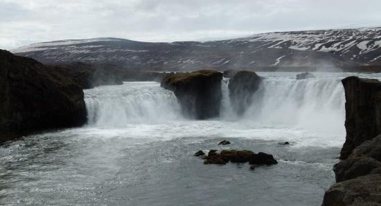 Goðafoss Wasserfall auf Island