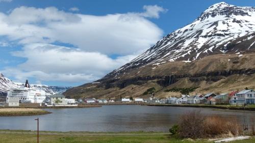 Seyðisfjörður in Island
